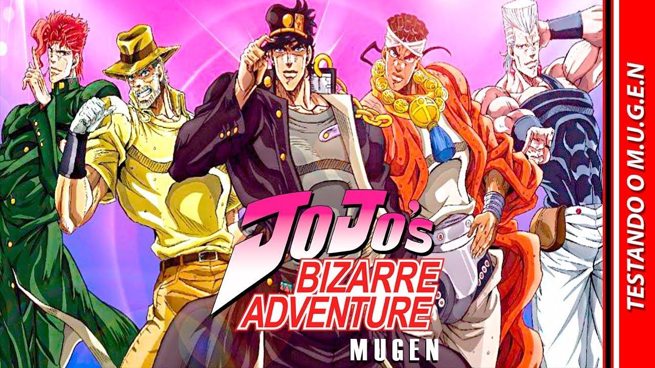 JOJO's BIZARRE ADVENTURE MUGEN 2019 [FULL GAME] | #TESTANDOOMUGEN