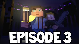 "Minecraft Story Mode - EPISODE 3 Predictions! ""The Last Place You Look"""