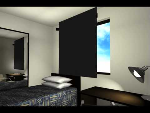 Blockout Window Panel For Mining Camp Accommodation - AMC