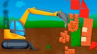 Новые мультики для детей про машинки - Землетрясение. Смотреть мультики онлайн