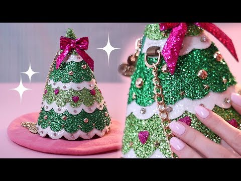 🎄 A Christmas Tree HANDBAG? 🎄 (ASMR Binaural Ear 2 Ear Whisper)