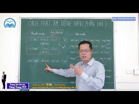 Học tiếng Trung thật dễ dàng - Clip 3 Cách phát âm (Phần 2)