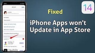 iPhone Apps Not Updating in App Store after iOS 14.2 [Fixed] screenshot 5
