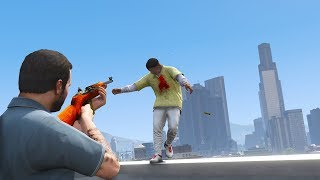 GTA 5 PC: REALISTIC DEATHS 60FPS (EUPHORIA RAGDOLL OVERHAUL) #42