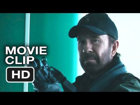 The Expendables 2 Movie CLIP - Airport (2012) - Arnold Schwarzenegger HD