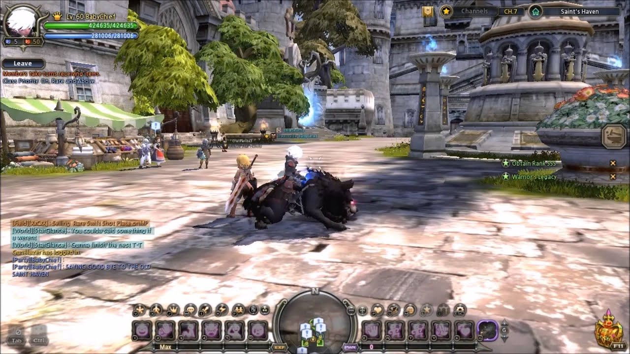 Dragon Nest Last day of old Saint Haven