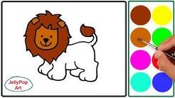 Warna Glitter Belajar Menggambar Dan Belajar Mewarnai Hewan Sapi