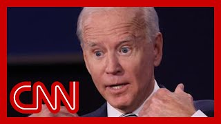 Crease in Biden's shirt sparked a conspiracy theory