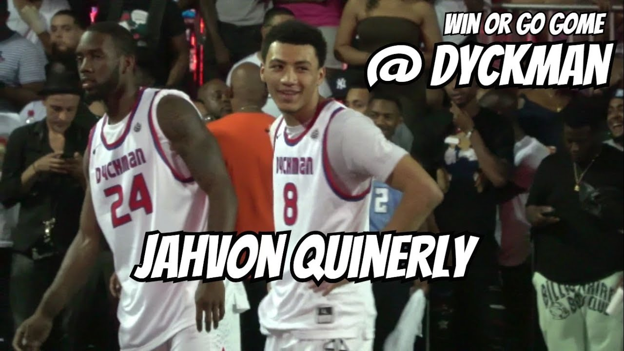8b4485f83ae1 WIN OR GO HOME! Jahvon Quinerly Turns Dyckman UP in Elimination Game ...