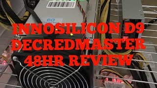 INNOSILICON D9 48HR REVIEW