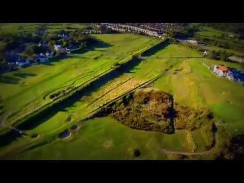 Ashburnham Golf Club 'from the Air By Hidden Carmarthenshire