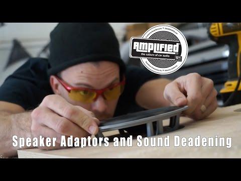 2015 Tundra Speaker Adaptors And Sound Deadening