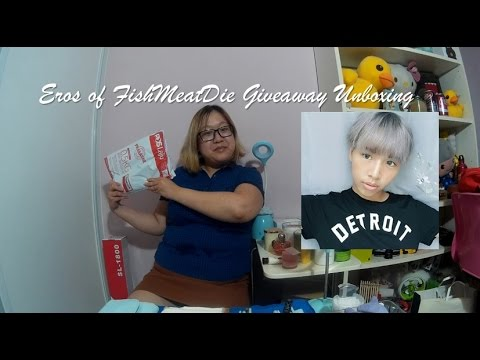Eros Of FishMeatDie Giveaway Unboxing
