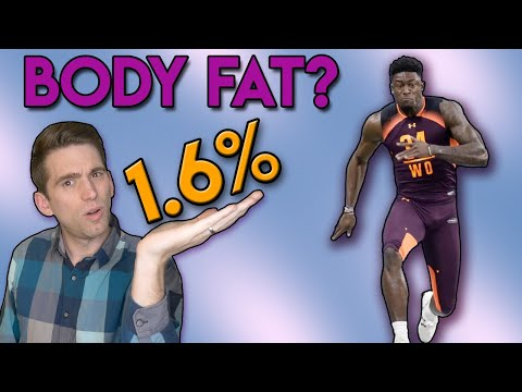 DK Metcalf 1.6% Body Fat at NFL Combine | A Doctor\'s Take