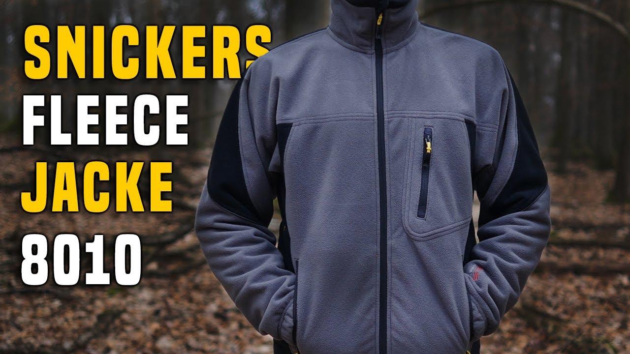 uudet tarjoukset noukkia Aika siistiä Snickers Workwear Fleece Jacke 8010 - Testbericht Gear Review