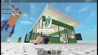 ROBLOX F3X SPEED BUILD | STARBUCKS