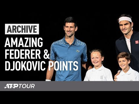 Epic Federer & Djokovic Rallies | ARCHIVE | ATP
