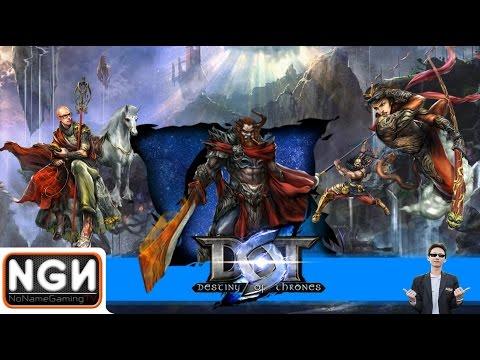 Destiny of Thrones (DOT) เกมมือถือแนว MOBA ภาษาไทย !!