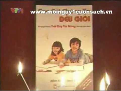 Giới thiệu sách Con Cái Chúng Ta Đều Giỏi trên VTV1