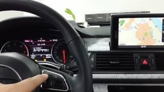 아우디 A6 A7 A8 네비게이션, 옴니뷰 PIP 인터…