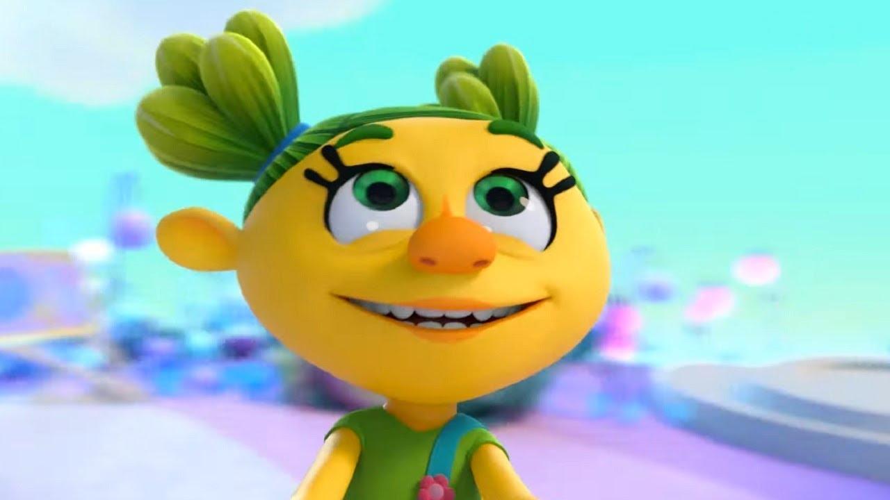 Монсики - все серии про Саню - сборник -  мультфильм для детей – чувства и эмоции
