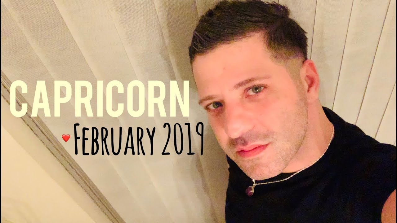 CAPRICORN February 2019 - CELEBRATION | OMEN | Good News & LOVE - Capricorn  Horoscope Tarot