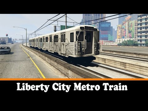 GTA 5 - Liberty City Metro Train