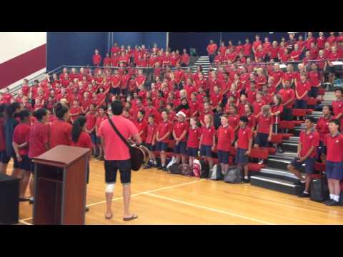 Balmoral School Song - End of Year 2013