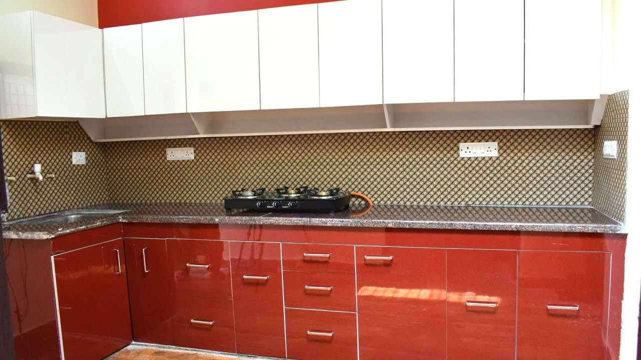 Modular Kitchens Easy Kitchen Backsplash My New Tour 1 ल ख क वल 50000 म व भ ट प स Material थ