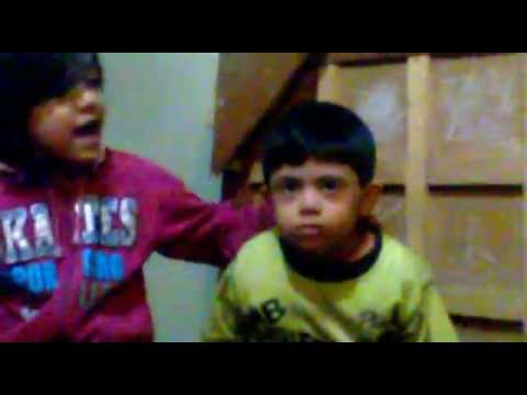 Lakdi ki Kaathi Kaathi pay Ghora- Sweet Nbiah Singing & Cute Sleepy ...