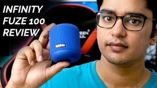 Infinity (JBL) Fuze 100 Review, Water Test, Bass Test, Unboxing!
