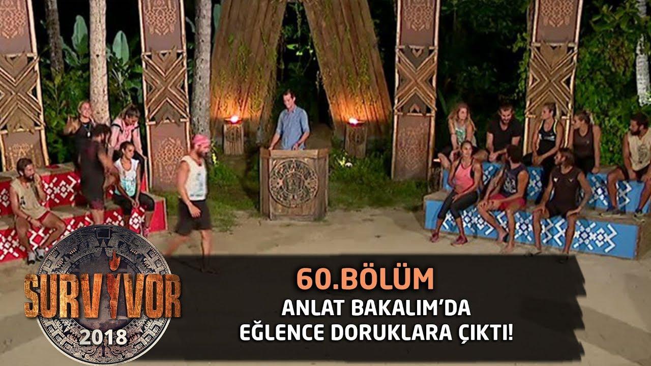 Anlat Bakalım'da eğlence yine tavan yaptı! | 60. Bölüm| Survivor 2018