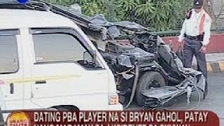 UB: Ex-PBA player na si Bryan Gahol, patay nang madamay sa aksidente sa Skyway thumbnail