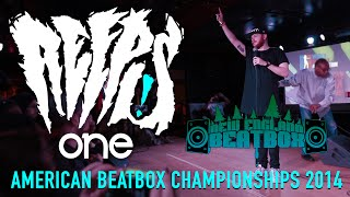 reeps one american beatbox championships 2014 webster hall new york crowd perspective