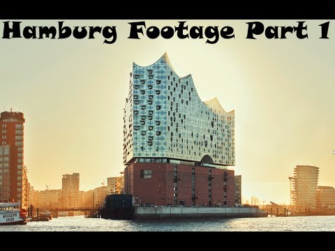 Hamburg Germany Footage | Part 1 | GMNC Movies | In Full-HD
