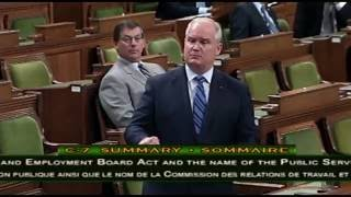 Third Reading of Bill C-7 (May 30, 2016)