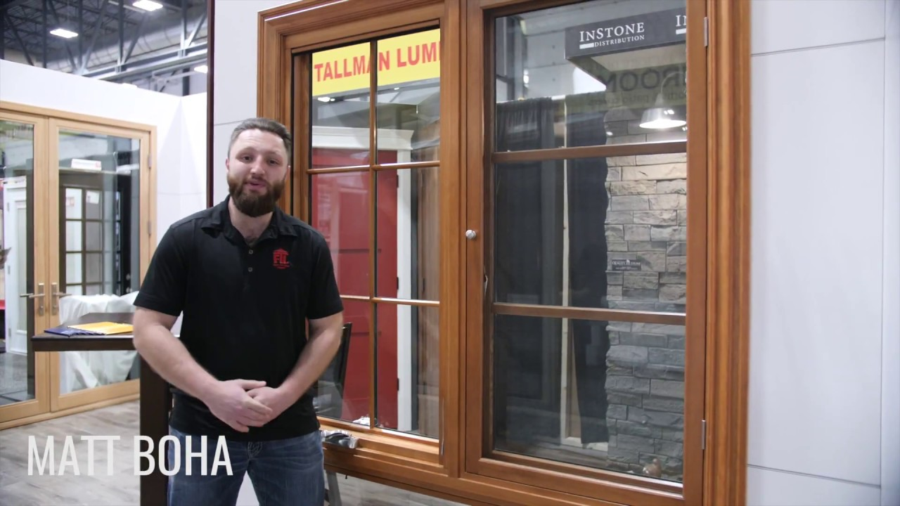 Loewen Windows And Doors Fries Tallman At 2018 Regina Spring Home Show