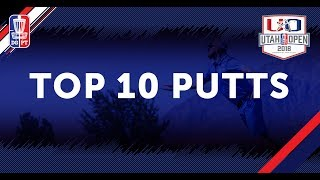 Event Preview: Utah Open 2018 - Top 10 Putts