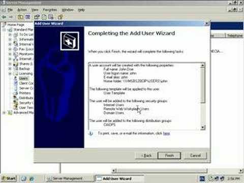 adding-a-user-to-small-business-server-2003