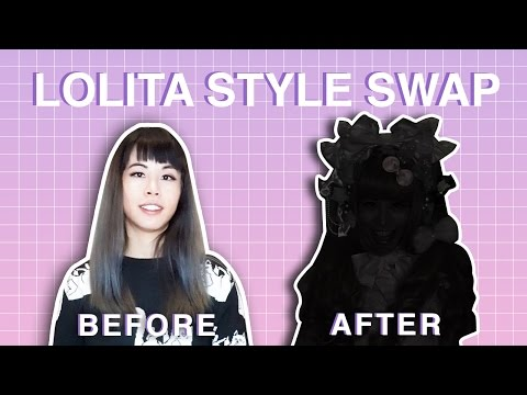 ☆ Lolita Style Swap ☆ | OTT Sweet Lolita Transformation with Alice's Adventures