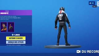 FORTNITE NEW SKIN REVÊCHE - PIOCHE FER RED BOUTIQUE FORTNITE OF AUGUST 15, 2019!
