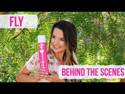 ANNIE LEBLANC : BEHIND THE SCENES ON THE SET OF HER MUSIC VIDEO!