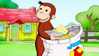 Curious George 🐵For The Birds 🐵Kids Cartoon 🐵Kids Movies 🐵Videos for Kids