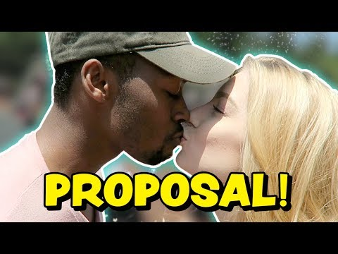 FAKE PROPOSAL AT DISNEYLAND PRANK (Squad Vlogs)
