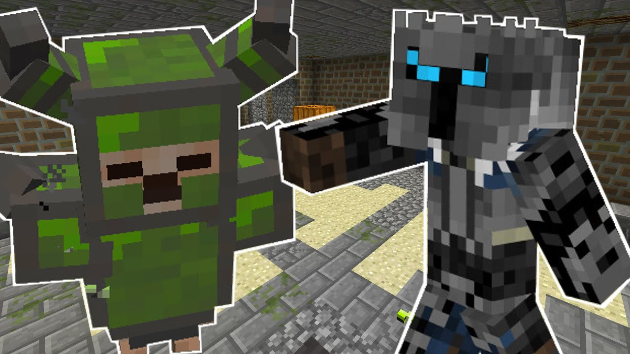 minecraft crazy phantoms dungeon mission custom mod