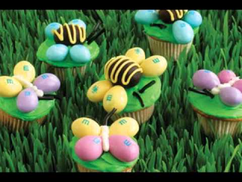 Easy Easter cupcake decorating ideas & Easy Easter cupcake decorating ideas - YouTube