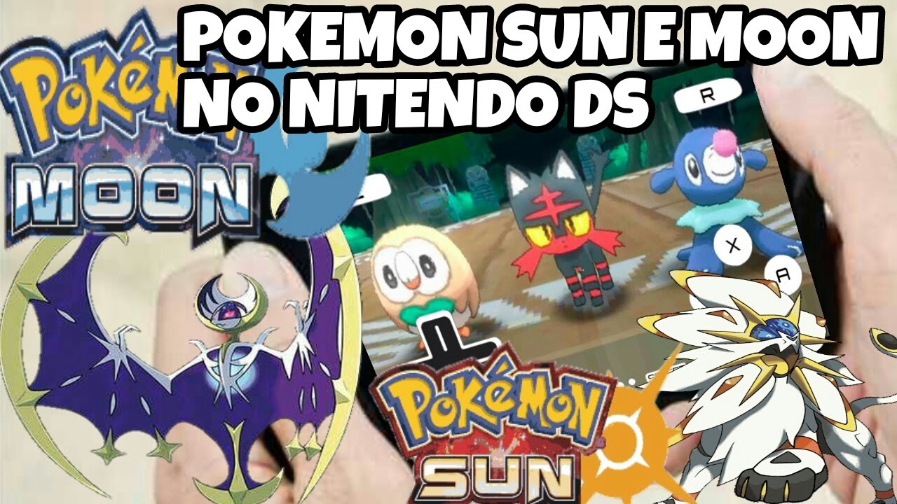 hack rom de pokemon sun pearl e moon diamond ds - youtube