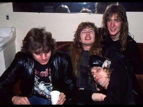 Megadeth Producer on Dave Mustaine, Chris Poland, David Ellefson, Gar Samuelson-Peace-1986-Interview
