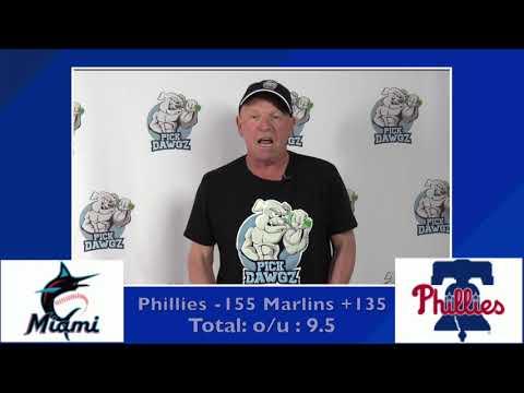Philadelphia Phillies vs Miami Marlins Free Pick 7/26/20 MLB Pick and Prediction