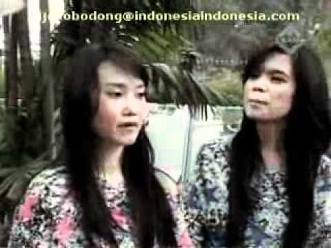 Duo Keong racun Sinta dan Jojo Lipsync lagu sherina geregetan di acara John pantau